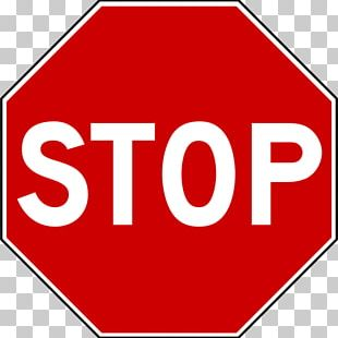 Stop Sign Traffic Sign Floor Marking Tape PNG