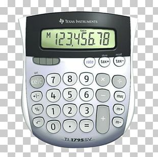 Texas Instruments TI-1795 SV Minidesk Calculator TI-BASIC TI-108 PNG