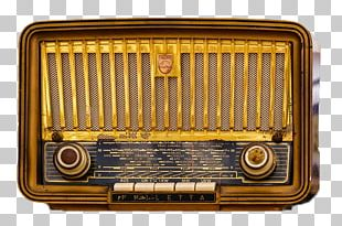 Golden Age Of Radio Antique Radio FM Broadcasting PNG