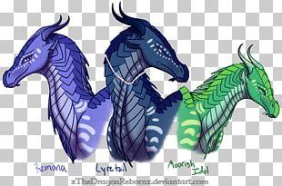Wings Of Fire Darkstalker Anemone Drawing PNG