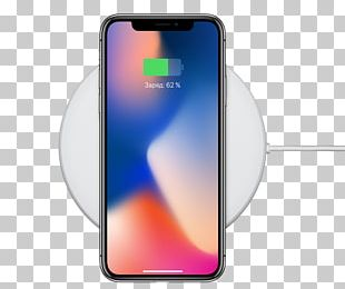 IPhone X Apple IPhone 8 Plus AC Adapter Inductive Charging Qi PNG
