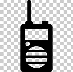 Walkie-talkie Computer Icons Mobile Phones PNG