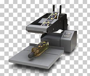 Label Printer Printing Barcode PNG
