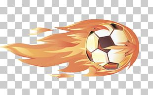 Football Fire PNG