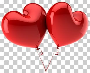 Heart Balloon Red PNG