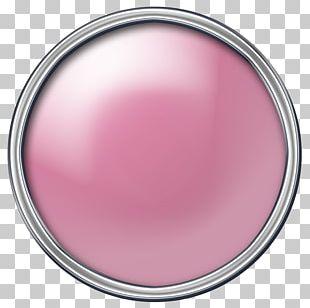 Magenta Circle Pink M PNG