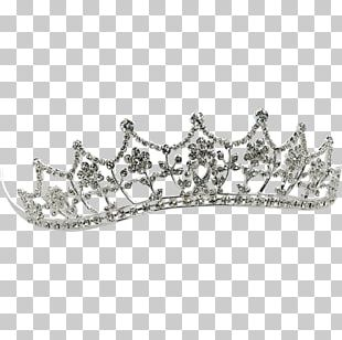 Headpiece Tiara Crown Earring Jewellery PNG