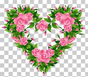 Rose Heart Pink PNG