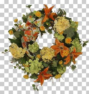Cut Flowers Floral Design Wreath Floristry PNG