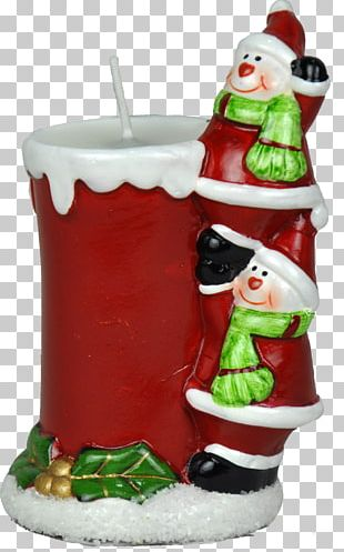 Santa Claus Christmas Ornament Candle Christmas Tree PNG