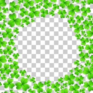 Saint Patrick's Day Shamrock Icon PNG