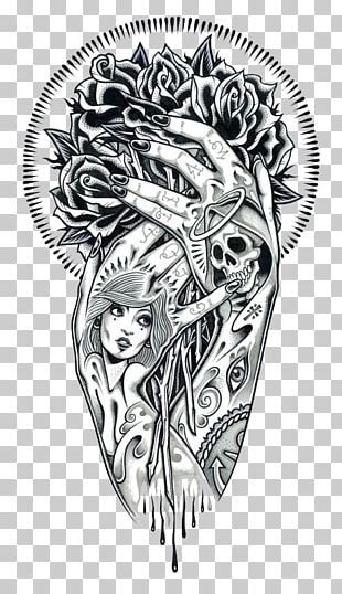 Tattoo Art Drawing Illustration PNG