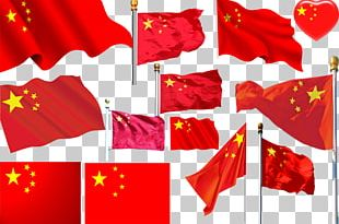 Flag Of China National Flag National Day Of The Republic Of China Red Star PNG