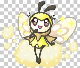 Honey Bee Pollen Butterfly PNG