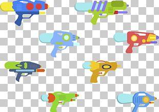 Water Gun Toy Child Designer PNG