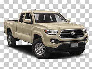 2018 Toyota Tacoma SR5 Access Cab 2018 Toyota Tacoma SR5 V6 Pickup Truck Four-wheel Drive PNG
