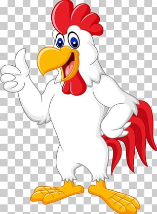 Chicken Rooster Cartoon Illustration PNG