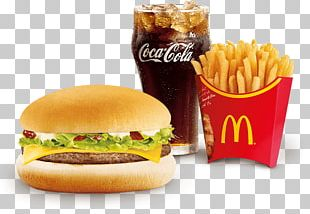 French Fries Cheeseburger McDonald's Big Mac Breakfast Sandwich Whopper PNG