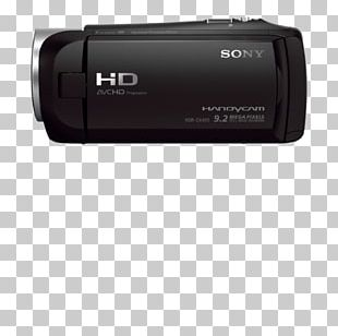 Sony Handycam HDR-CX405 Video Cameras PNG