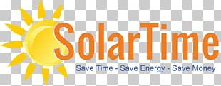 Solar Energy Logo Photovoltaics Electricity PNG
