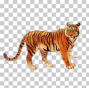 Bali Tiger Javan Tiger I Ching PNG