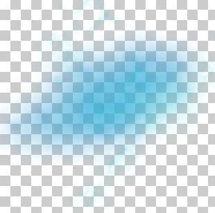 Blue Light Fog PNG