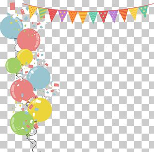 Balloon Party Stock Illustration Illustration PNG
