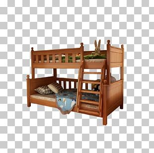 Bunk Bed Bench Nursery Infant Bed PNG