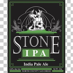 India Pale Ale Beer Stone Brewing Co. Stone IPA PNG