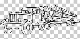 Peterbilt Logging Truck Semi-trailer Truck Lumberjack PNG