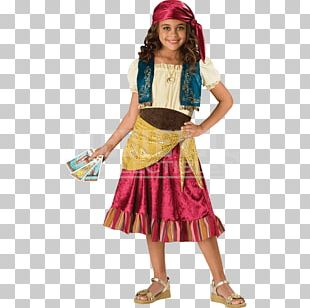 Halloween Costume Romani People Fortune-telling Child PNG