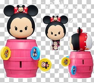 Minnie Mouse Mickey Mouse Pop-up Pirate Disney Tsum Tsum Toy PNG