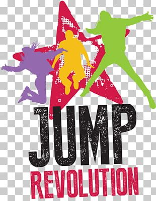 Jump Revolution Trampoline Park Sport Jumping Graphic Design PNG