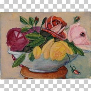 Painting Flower Floral Design Rose Art PNG
