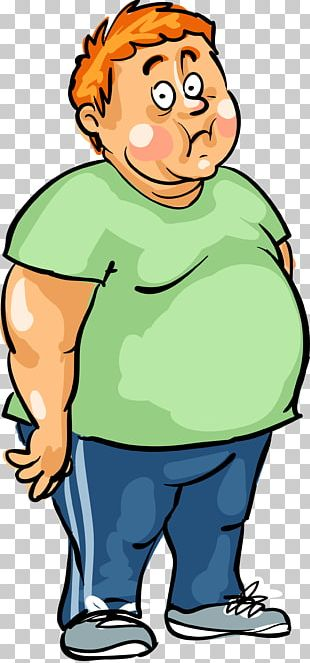 Man Male Fat PNG