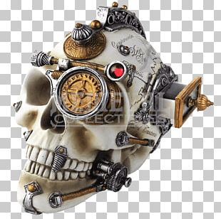 Skull Steampunk Fashion Alchemy Cerebrum PNG
