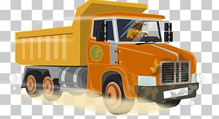 Pickup Truck Car AB Volvo Dump Truck PNG
