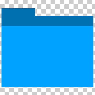 Electric Blue Square Angle Area PNG