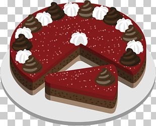 Chocolate Cake Fruitcake Torte Wedding Cake Cream PNG