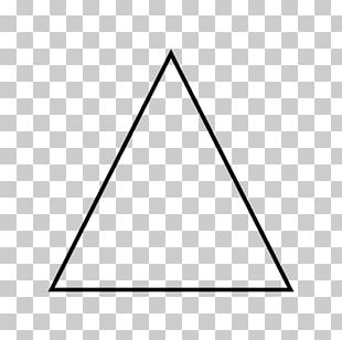 Equilateral Triangle Geometry Shape PNG