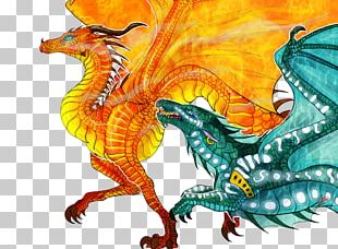 Dragon Wings Of Fire Art Escaping Peril Drawing PNG