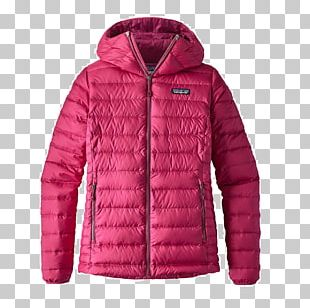Hoodie Patagonia Down Feather Sweater Jacket PNG