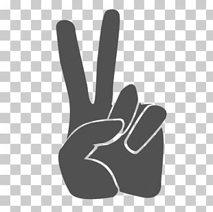 V Sign Graphics Computer Icons Sign Language PNG