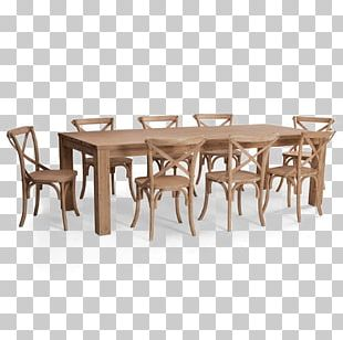 Table Chair Furniture Suite Dining Room PNG