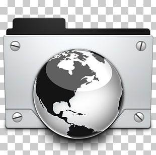 Technology Globe Font PNG