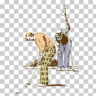Golf Club Golf Ball Euclidean PNG