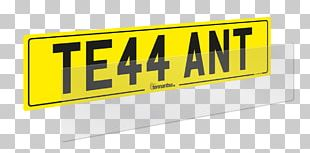 Printing Signage Brand Vehicle License Plates PNG