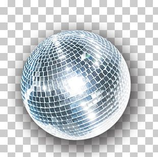 Crystal Ball Disco Ball Christmas Ornament PNG