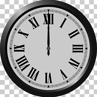 Roman Numerals Clock Face Time PNG
