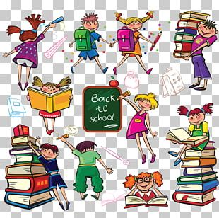 Student School Cartoon Drawing PNG